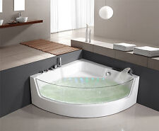 WHIRLPOOL baignoire bain à remous d'angle Jacuzzi spa lxw-1531