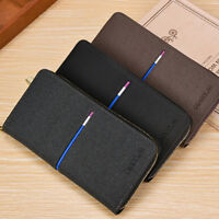 Mens Wallet Purse Change Bags PU Leather New Business Coin Case ID Card Holder