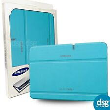 "Original Samsung Galaxy Note 10.1"" Flip Folio Case Cover Hellblau"