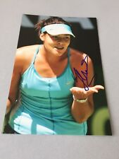 Ana advocate tennis world rankings-first in-person Signed Photo 10x15 Autograph