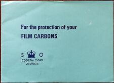 Marathon Film Carbons Code No. 2-140 10 Sheets
