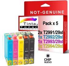 5 cartuchos tinta non oem para Epson XP-245 XP-247 XP-345 XP-342 XP-442 XP-445
