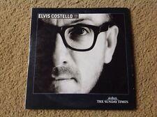 ELVIS COSTELLO CD ROCK ALBUM SUNDAY TIMES PROMO DISC 2002 POP ROCK SENT POSTFREE