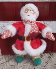 MARY ENGELBREIT ~ PLUSH SANTA DOLL ~ THE NIGHT BEFORE CHRISTMAS ~ TOOCH TAG