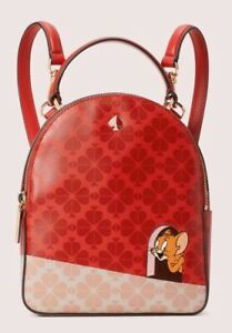 KATE SPADE X Tom & Jerry Mini Backpack Convertible Cartoon Mouse Disney Dust Bag