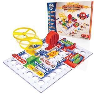 Science Kidz Electro Snaps 188 Experiments Kit - Electronic Circuit Set For Kids