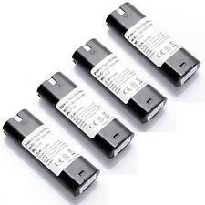 4X 1500mAh 7.2V Replace Battery For MAKITA 7.2 Volt Cordless Drill