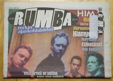 Finnish Rumba Magazine 21 / 1997 : Metallica Cover