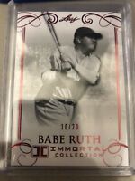 2017 Leaf Immortal Collection Babe Ruth 10/20