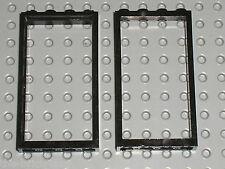 Cadre de porte LEGO black door frame 60596 / Set 10937 8404 10182 2505 10224 ...