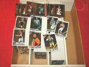 2019 DONRUSS OPTIC FOOTBALL 1216 CARDS WITH INSERTS AND 744 ROOKIES (18-51)