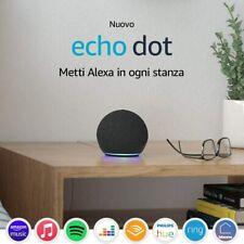 Nuovo Echo Dot 4ª generazione Alexa garanzia ITA 3 colori disponibili Originale
