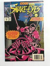 GI JOE No 141. Starring Snake Eyes and the New Transformers.
