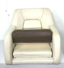Boat / Marine Helm / Captains Chair Seat Tan / Brown