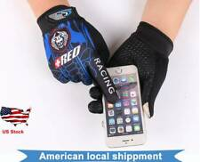 Touch Screen Cycling Full Finger Gloves Outdoor Sports Men Motorcycle Biker Moto