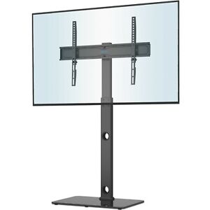 """Cantilever TV Stand with Mount Bracket Tempered Glass for 30-70"""" LCD LED Plasma"""