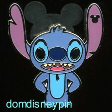 Disney Pin WDW 2018 Hidden Mickey Collection *Stitch Attitudes* Happy!