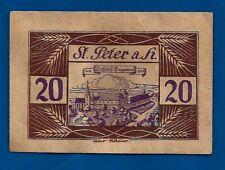 1920 St Peter am Hart AUSTRIA notgeld 20 Heller emergency money note bill