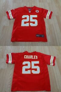 Youth Kansas City Chiefs Jamaal Charles L (7) Nike Jersey On-Field Jersey