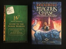 Magnus Chase Book -Sword of Summer and Hotel Valhalla -Guide to the Norse Worlds