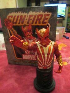 "Buste Sunfire Marvel Mini-Bust Randy Bowen Desgins 1783/1800 6"" 15cm 2006"
