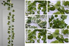 Neu Efeugirlande grün künstliches Efeu Kunstpflanzen Kunstblumen 200 250 cm Deko