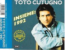 TOTO CUTUGNO - Insieme: 1992 CD SINGLE 3TR EUROVISION 1990 ITALY (EMI)