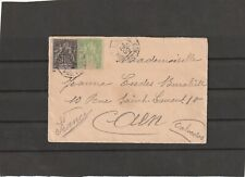 """Martinique FRENCH PAQUEBOT LINE D SHIP """"CANADA"""" COVER TO France 1900"""