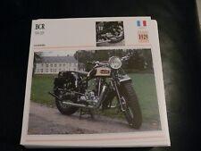 Fiche card CARTONNée moto FRANCE BCR 500 HS 1929