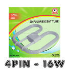 Powerplus 2D Fluorescent Tube Lamp Energy Saving 16-Watt 4 Pin 4000K