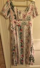 Kenzo Silk Floral Dress- Size 38- Worn Once