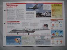 Aircraft of the World Card 113 , Group 5 - Myasishchev M-17/M-55 'Mystic'