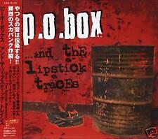 P.O. BOX - And The Lipstick traces - Japan CD - NEW PO