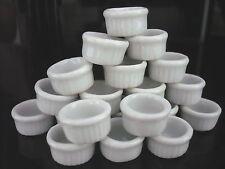 30x10 mm. White Round Bowl Dollhouse Miniatures Ceramic Supply Deco