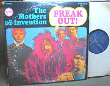 Mothers of Invention 2 LP Freak Out! verve v6/5005-2 frank zappa gate '66 stereo
