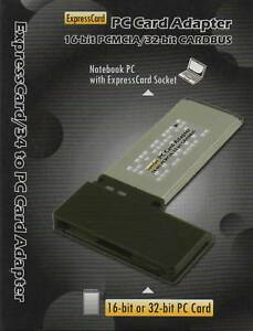 PC-EXP PC Card to ExpressCard Adapter/Reader for Panasonic P2 WIN XP