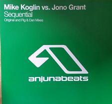 """Mike Koglin vs. Jono Grant """"Sequential"""" *anj040 / Original Mix + Pig & Dan Remix"""