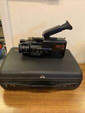 Vintage PANASONIC NV-MC10 VHS-C Movie Camera Bundle (check description)