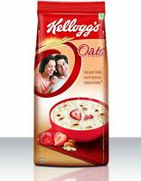 Kellogg's Oats, Rolled Oats, High in Protein and Fibre,2kg (Free shipping world)