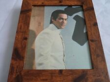 Bruce lee scrapbook rare photos Framed 10by8 mounted wood frame classic scene 6