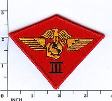 USMC 3rd Marine Aircraft Wing PATCH Class-A worthy ! 3rd MAW 3d Air Wing Marines