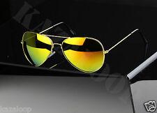 Classic Pilot Sunglasses Gold Silver frames 400UV Protection