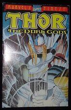 Thor The Dark Gods Volume 1 Marvel Finest Comics Paperback Book 2000 Dan Jurgens