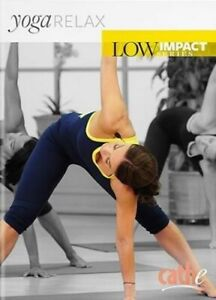 CATHE FRIEDRICH LOW IMPACT SERIES YOGA RELAX DVD NEW SEALED FITNESS EXERCISE