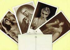 IRIS VERLAG (Austria) - 1920s Silent Film Star Postcards #481 to #669