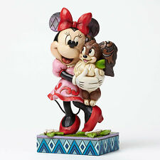NEW Disney Traditions Jim Shore Minnie Mouse and Fifi Furrever Friends Figurine