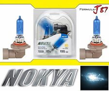 Nokya 7000K White 9005 HB3 Nok7211 100W Two Bulbs Head Light High Beam Plug Play