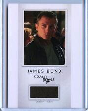 2016 James Bond Classics Relic card PR11 Daniel Craig Leather Jacket /200