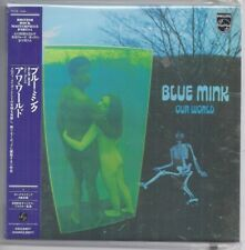 BLUE MINK Our World JAPAN mini lp cd papersleeve cd philips POCE-1049 NEW