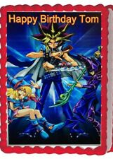 Yugioh Birthday Party Icing Edible Cake Topper Decoration Image Frosting sheet